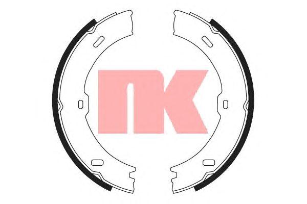 Тормозные колодки ручника NK 2733782
