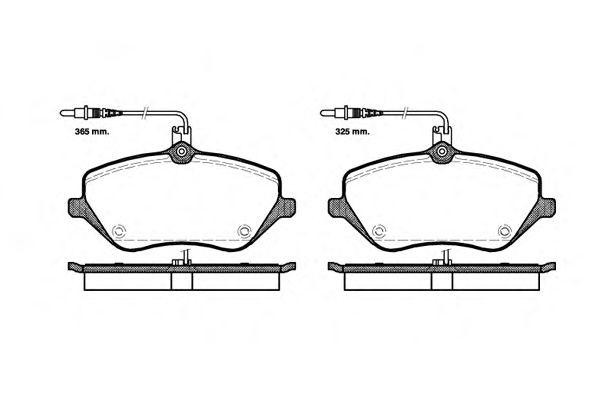 Тормозные колодки REMSA 1101.04