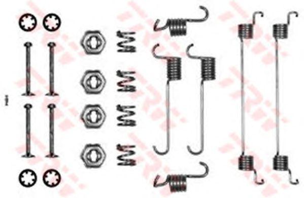 Монтажный комплект тормозных колодок TRW SFK137