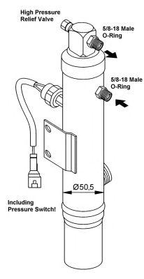 Осушитель кондиционера NRF 33232