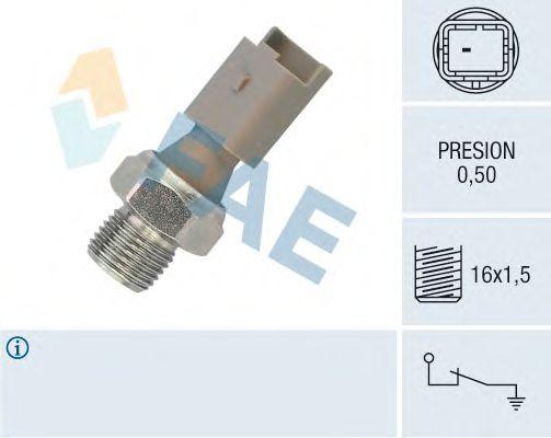 Датчик давления масла FAE 12640