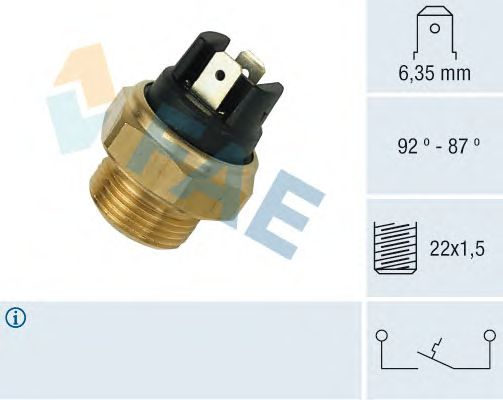 Датчик включения вентилятора FAE 37310