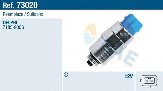 Клапан опережения впрыска FAE 73020 (электроклапан ТНВД)