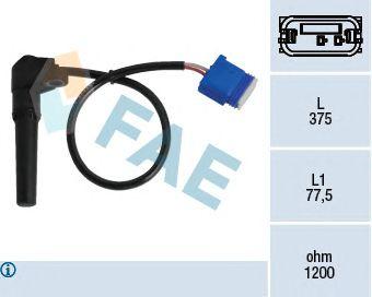 Датчик частоты вращения, автоматическая коробка передач FAE 79282