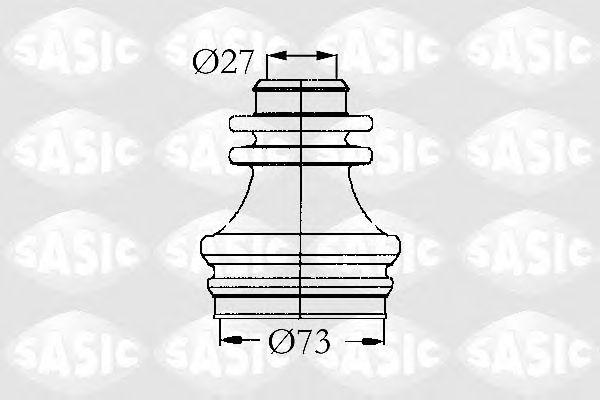 Комплект пыльника ШРУСа SASIC 4003462