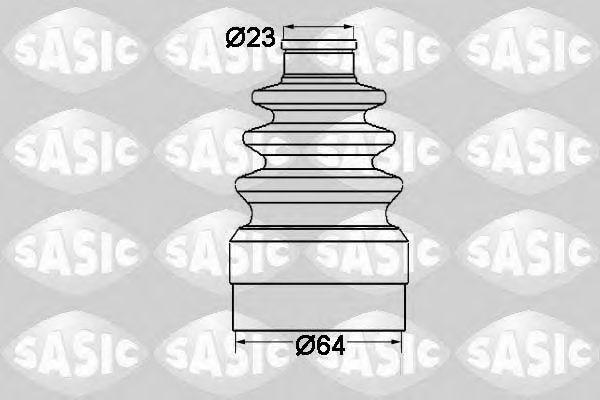 Комплект пыльника ШРУСа SASIC 1904011