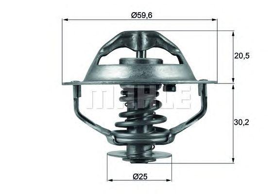 Термостат MAHLE ORIGINAL TX 107 90D
