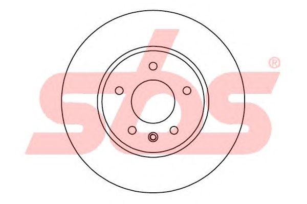 Тормозной диск sbs 1815203666