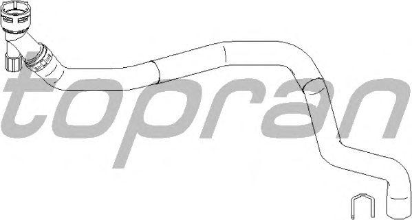 Шланг радиатора TOPRAN 112 020