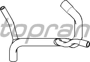 Шланг радиатора TOPRAN 301 440