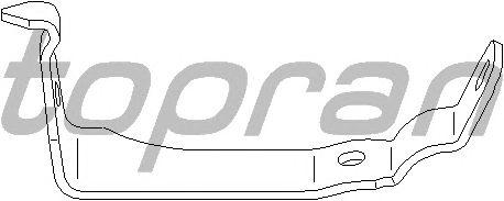 Кронштейн стабилизатора TOPRAN 401 497