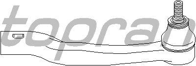 Наконечник рулевой тяги TOPRAN 400 637