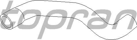 Шланг радиатора TOPRAN 206 698