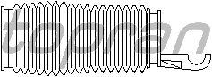 Комплект пыльников рулевой рейки TOPRAN 722 170