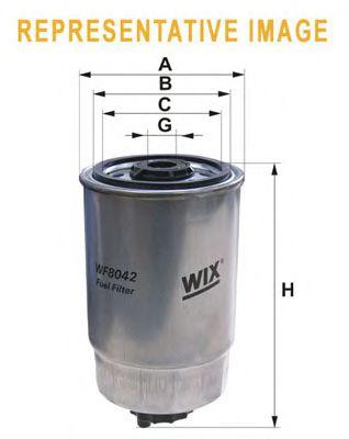 Топливный фильтр WIX FILTERS WF8361