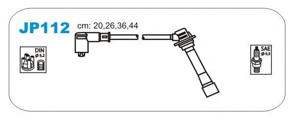 Комплект высоковольтных проводов JANMOR JP112