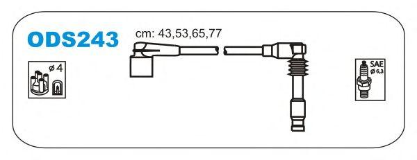 Комплект высоковольтных проводов JANMOR ODS243