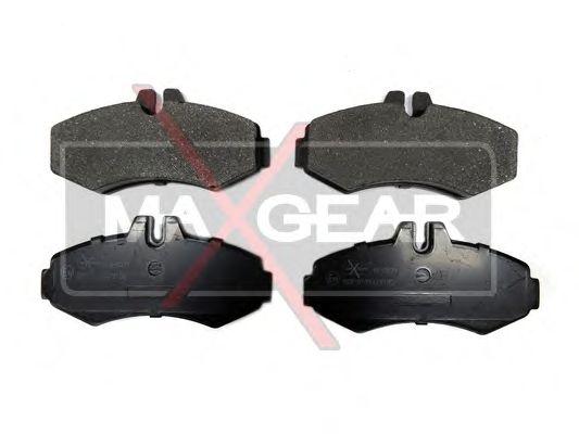 Тормозные колодки MAXGEAR 19-0571