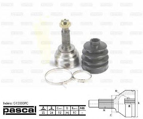 Комплект ШРУСов PASCAL G13000PC