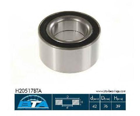 Ступичный подшипник BTA H20517BTA