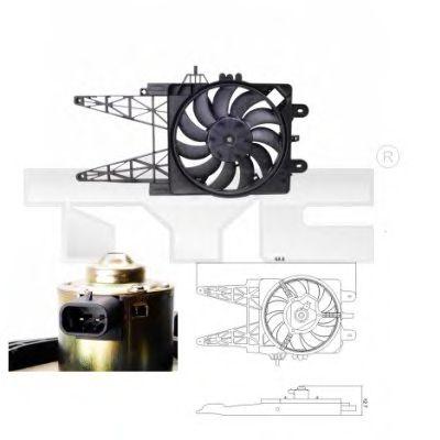 Вентилятор охлаждения TYC 809-0008