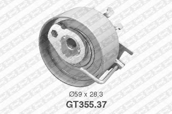 Натяжной ролик ремня ГРМ SNR GT355.37
