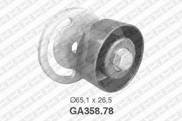 Натяжной ролик поликлинового ремня SNR GA358.78