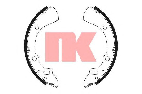 Тормозные колодки NK 2732359