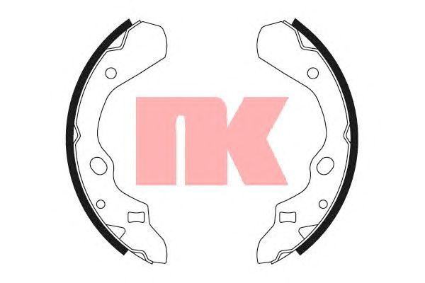 Тормозные колодки NK 2732500
