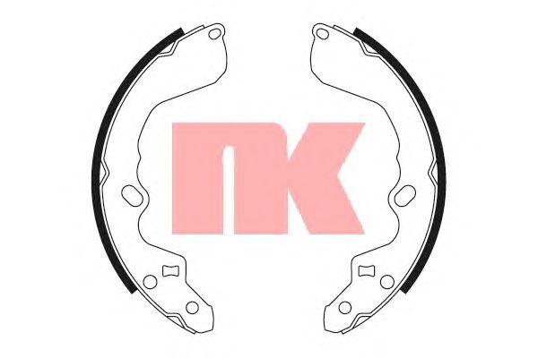 Тормозные колодки NK 2732622