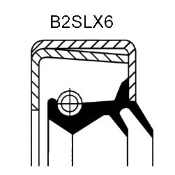 Уплотняющее кольцо CORTECO 12015254B (ступенчатая коробка передач, дифференциал)