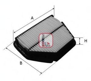Воздушный фильтр SOFIMA S 3392 A