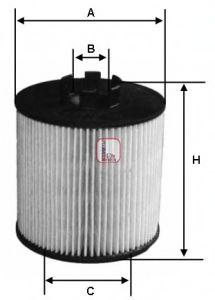 Масляный фильтр SOFIMA S 5012 PE