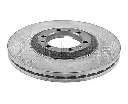 Тормозной диск MEYLE 615 521 6029