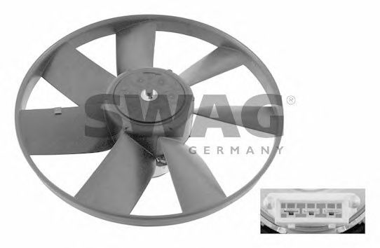 Вентилятор охлаждения SWAG 99 90 6993