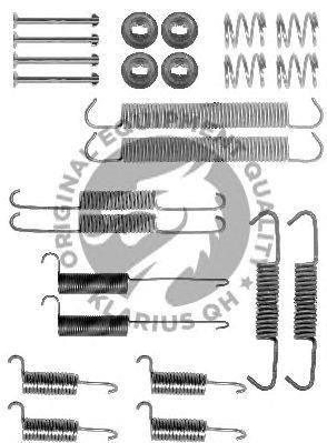 Монтажный комплект тормозных колодок QH International BFK358