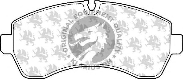 Тормозные колодки QH International BP1554