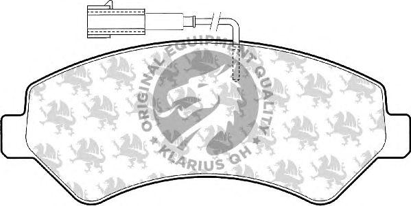 Тормозные колодки QH International BP1575
