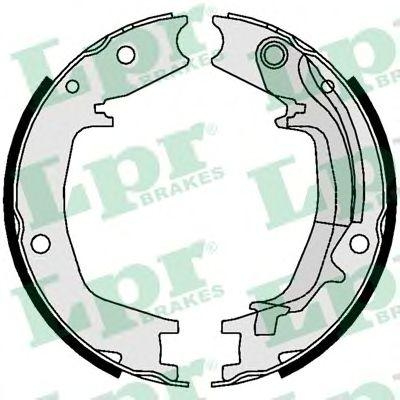 Тормозные колодки ручника LPR 01062