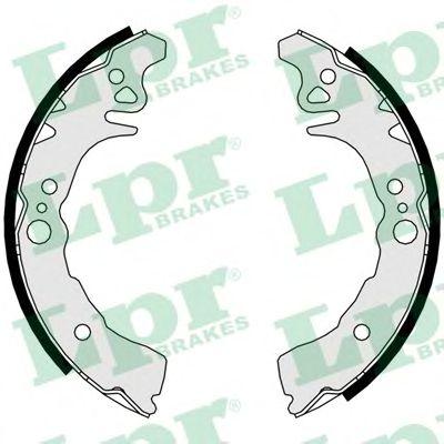 Тормозные колодки LPR 01065