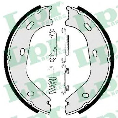 Тормозные колодки ручника LPR 01839