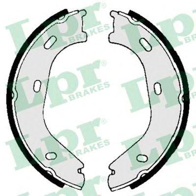 Тормозные колодки ручника LPR 01840