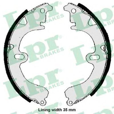 Тормозные колодки LPR 04530