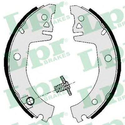 Тормозные колодки LPR 05780