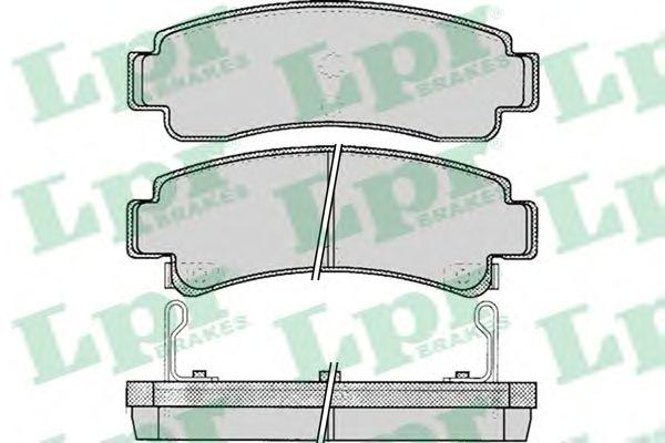 Тормозные колодки LPR 05P088
