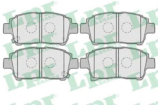 Тормозные колодки LPR 05P1003