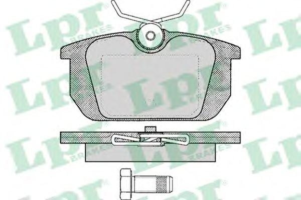 Тормозные колодки LPR 05P101