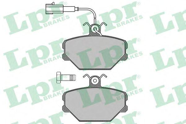 Тормозные колодки LPR 05P102