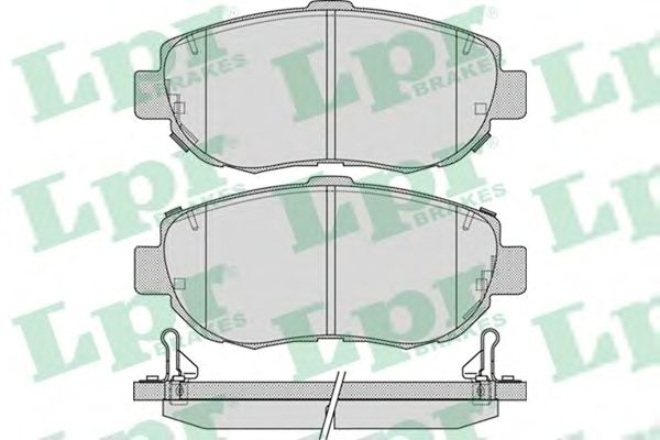 Тормозные колодки LPR 05P1033