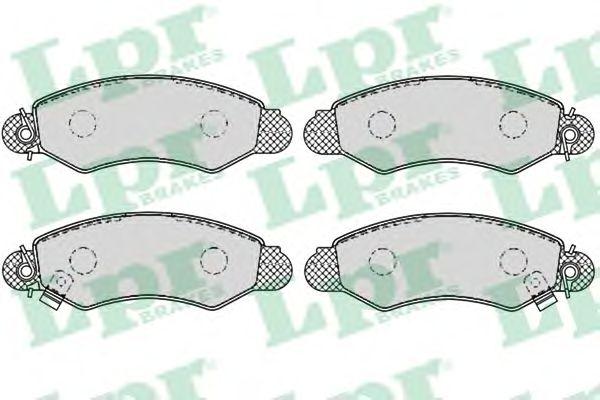 Тормозные колодки LPR 05P1041